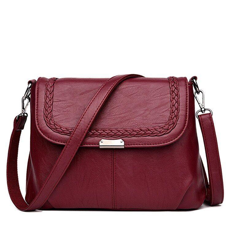 96a638640c8 2019 的 Leather Luxury Handbags Designer Shoulder Crossbody Bags For ...