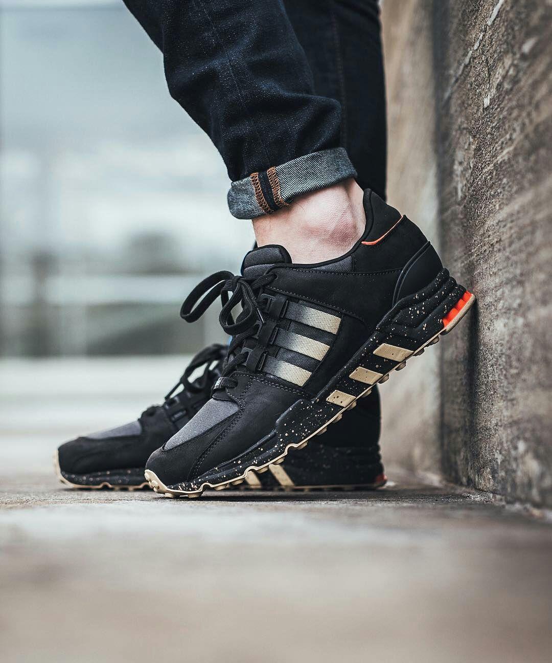 Adidas Adidas Shoes Sneaker Sneakers Kicks Sole Fashion Style Streetwear Sporty Sportswear Menswear Me Sneakers Trendy Sneakers All Black Sneakers