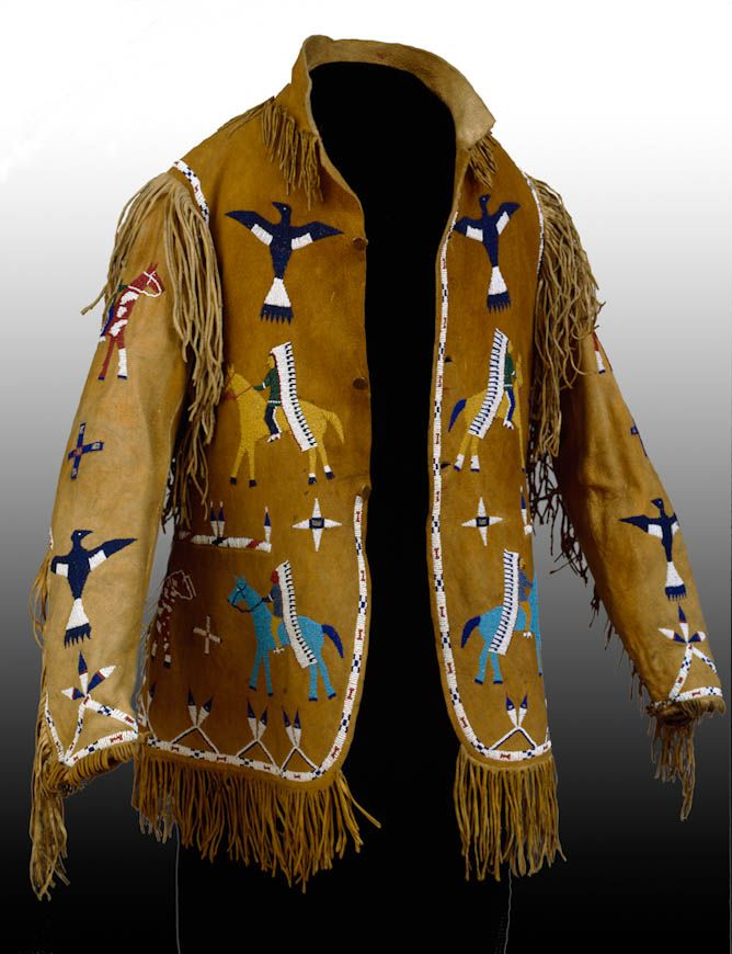 e356b44a Lakota (Teton/Western Sioux) Jacket, late 19th century | Native ...