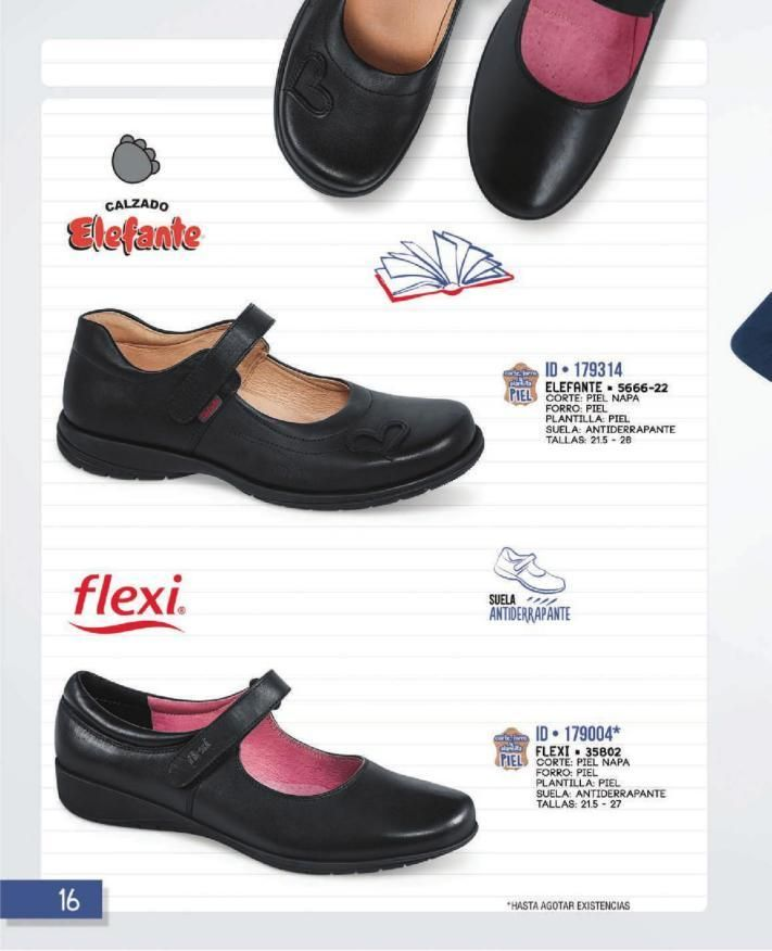 788f932b763 Zapatos niña escolar Gorila uniforme colegio puntera reforzada negro