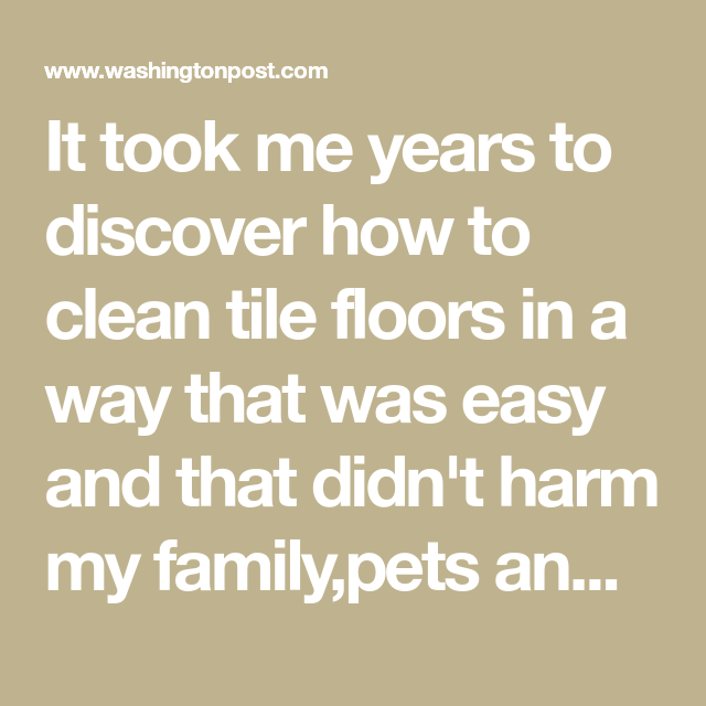 The Secret To Cleaning Grout In Tile Floors Cleaning