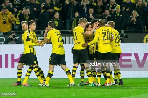 Dortmund, GERMANY - NOVEMBER 19: the players of Borussia... #konigsteinlandbayern: Dortmund, GERMANY - NOVEMBER 19:… #konigsteinlandbayern