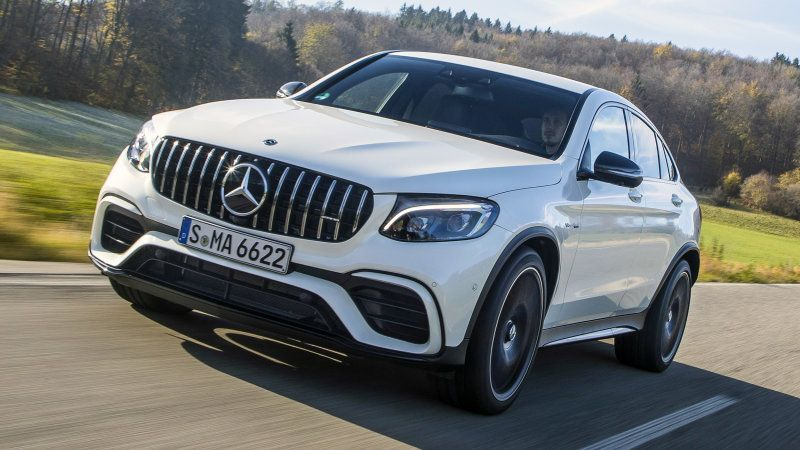 2019 Mercedes Amg Glc 63 S Coupe Quick Spin Review Mercedes Amg