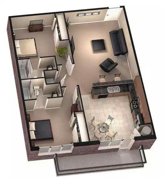 Amazing Kleine Hauspläne, Haus Grundrisse, Moderne Hauspläne, Moderne Häuser, Haus  Design, Kleine Häuser, Zeitgenössische Wohngestaltung, Moderne Architektur,  ...