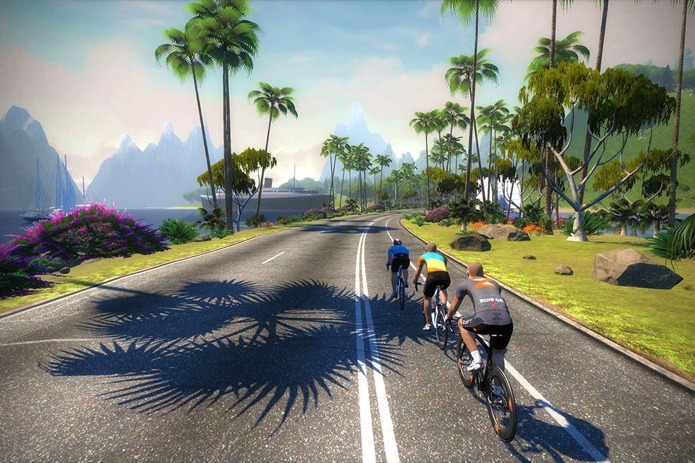 Zwift S Online Multiplayer Game Brings The Group Ride Inside