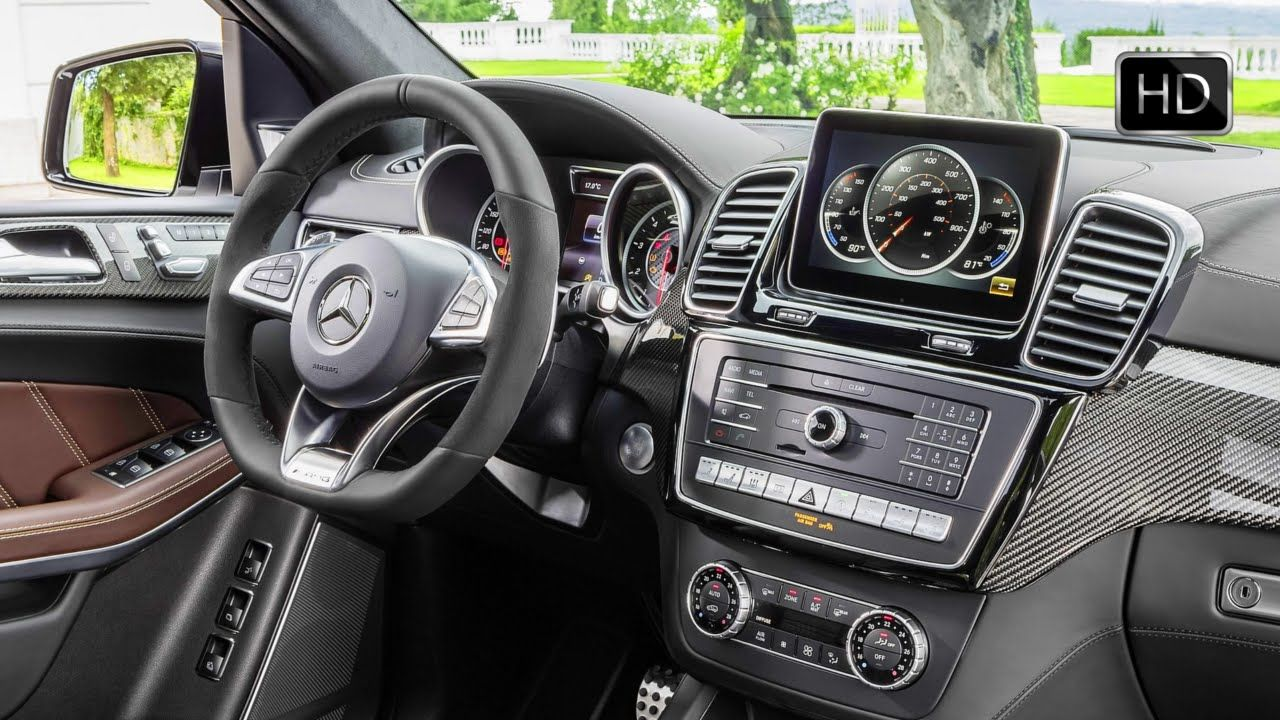 2017 mercedes benz amg gls 63 4matic facelift interior design hd