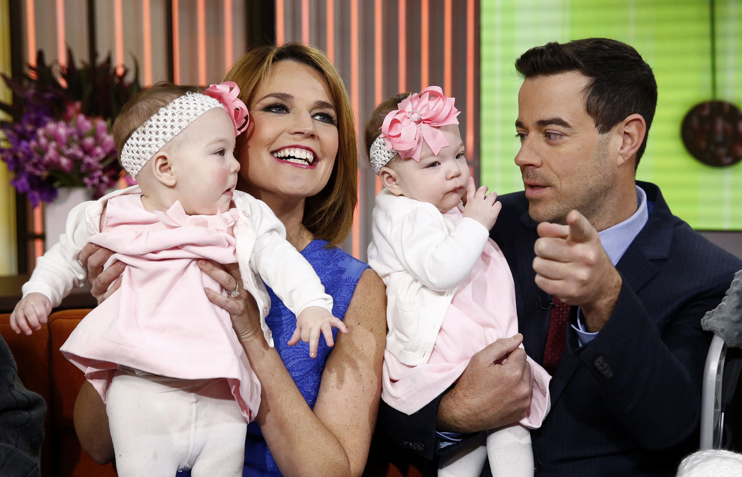 Savannah Guthrie And Carson Daly Celebrity Babies Celebrity