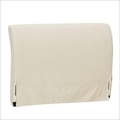 PB Comfort Bed & Headboard Slipcovers | Pottery Barn
