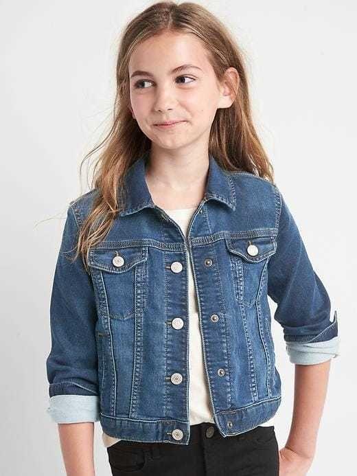 0cf33a475f4 Gap Super soft denim jacket