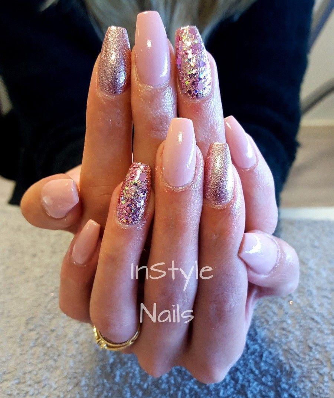 Nude and old pink | Nails Nails Nails!!! | Pinterest | Nude and Nail ...