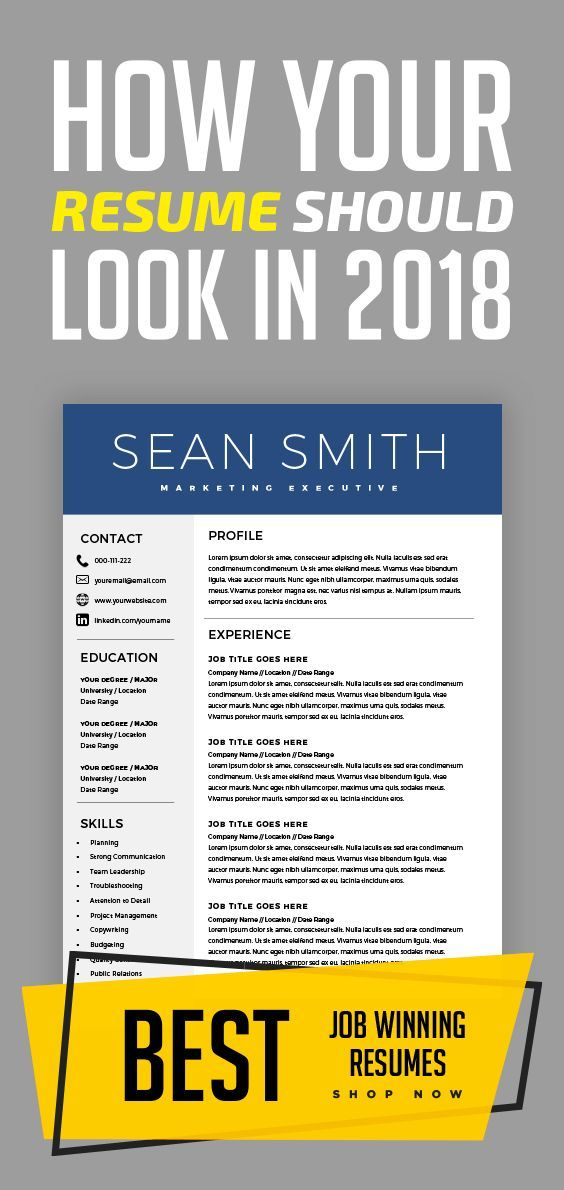 Modern Resume Template Professional Cv Template Cover Letter - Resume-template-microsoft-word-mac