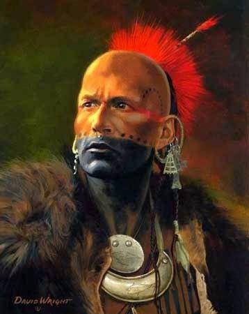 Native American Warrior Face