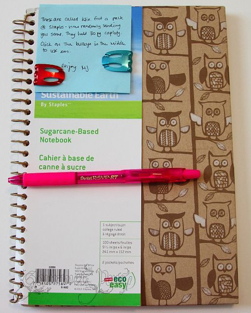 Mailbox Goodies from MJ by GourmetPens, via Flickr