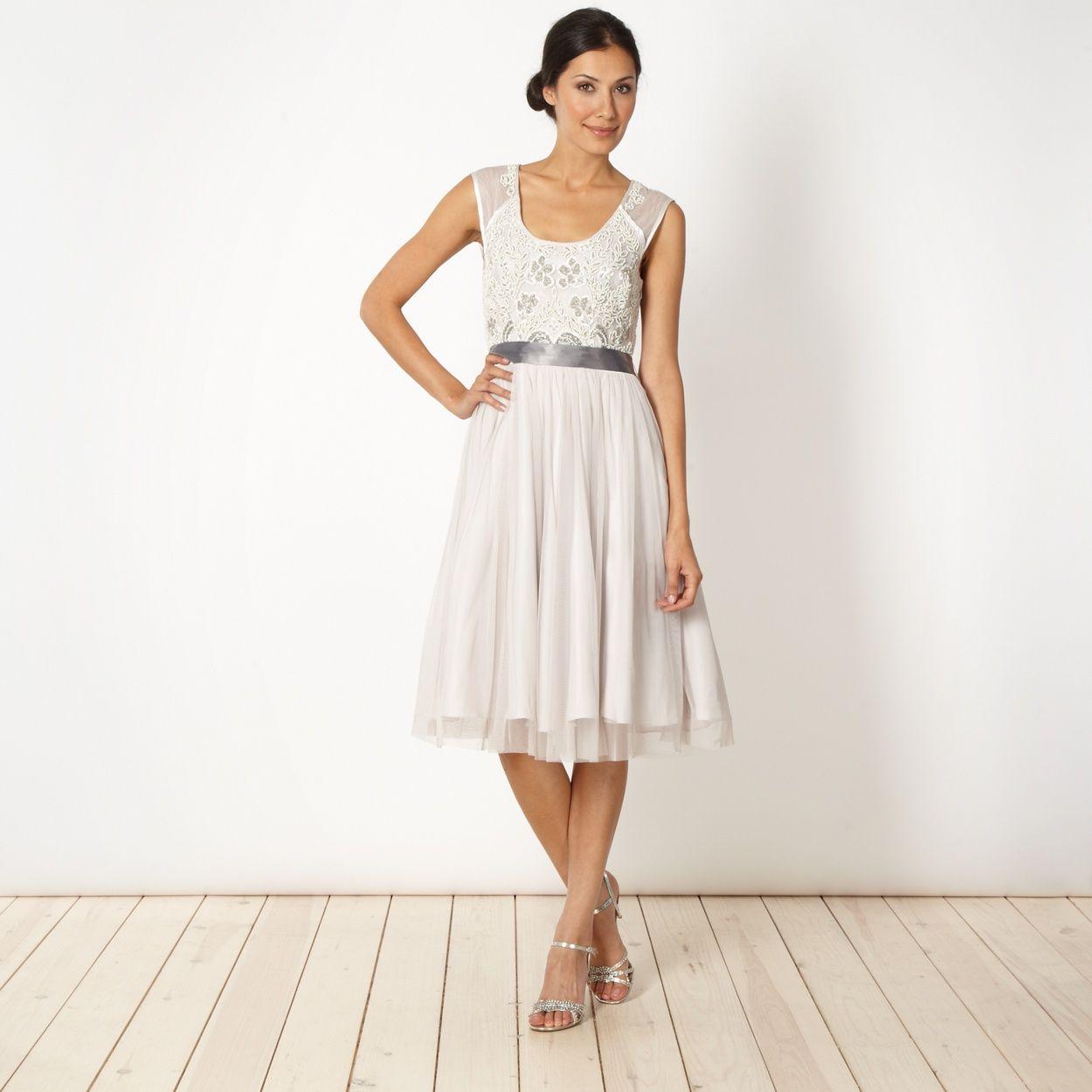 No 1 jenny packham designer pale pink beaded bodice dress at 1 jenny packham designer pale pink beaded bodice dress at debenhams ombrellifo Gallery