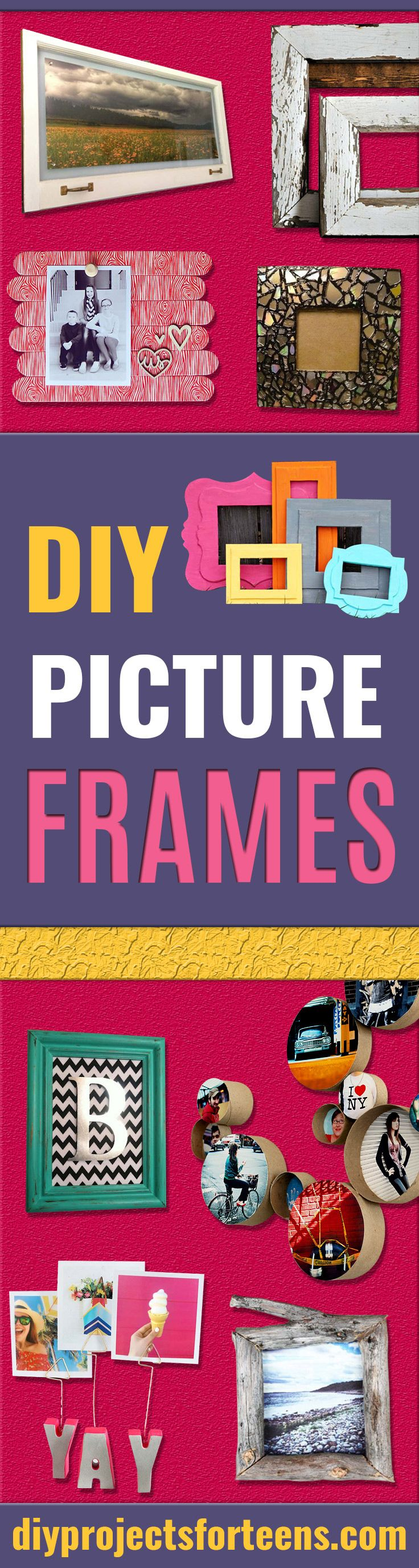 31 Cool And Crafty Diy Picture Frames