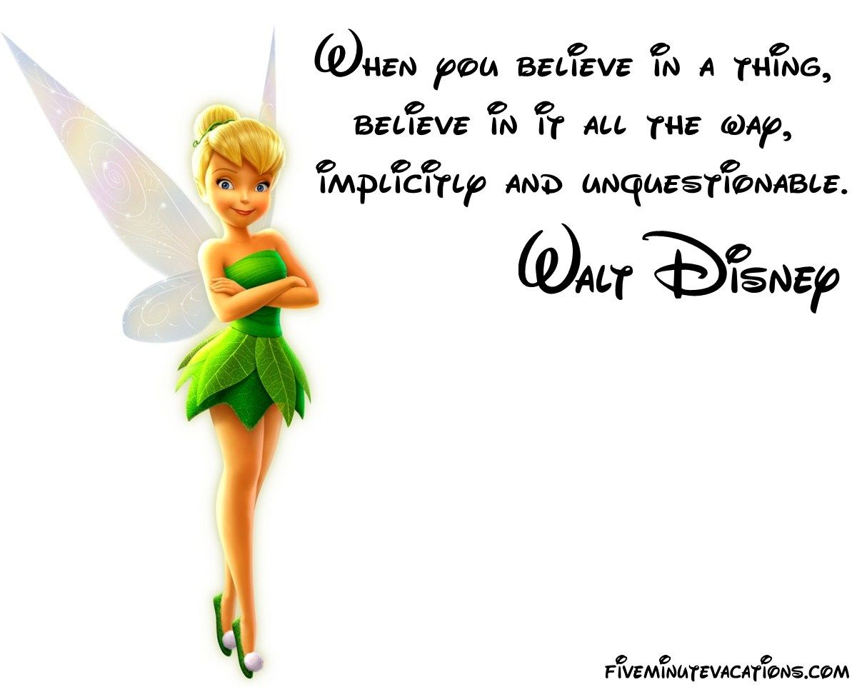 Pinterest Disney Quotes: It's All About The Confidence To Pursue Your Dreams.