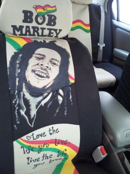Bob Marley* Crazy car seat covers. More fantastic pictures and ...