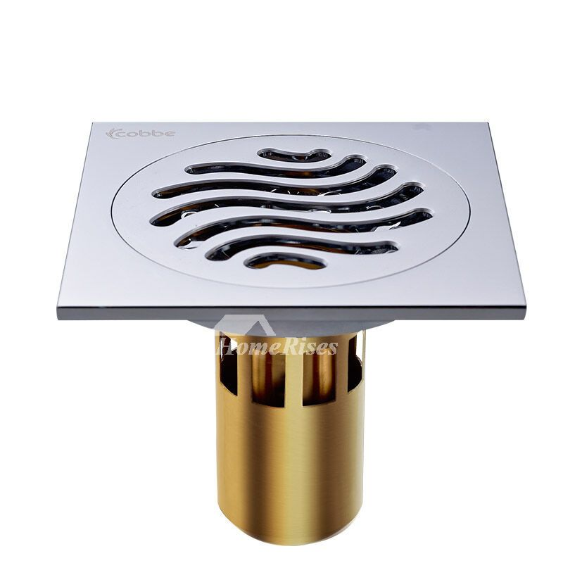 Cb50 4 color deep water fine brass square shower floor