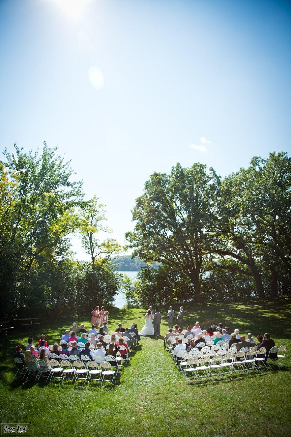 Bryant lake park wedding
