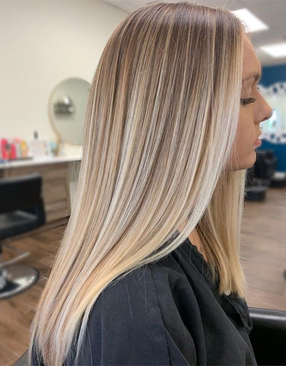 Fresh Look of Blonde Balayage Hair that are Looking Cute | Stylesmod