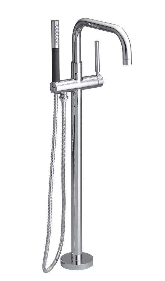 Kohler Purist Floor Mount Tub Filler For The Master Bathroom