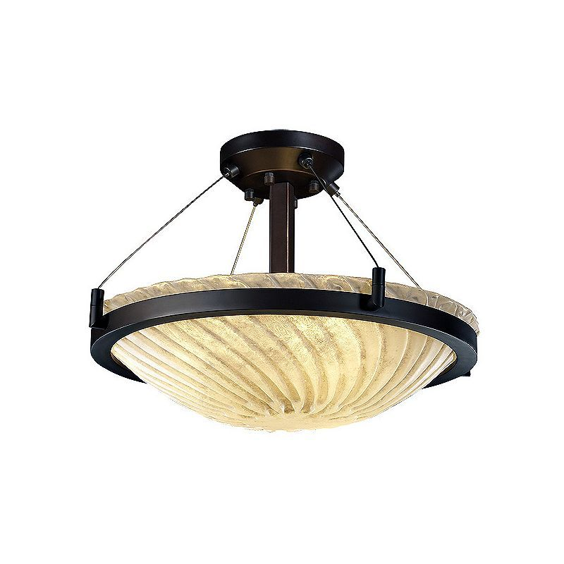 Justice Design Group Gla 9681 35 Whtw Led 3000 Ceiling Fixtures