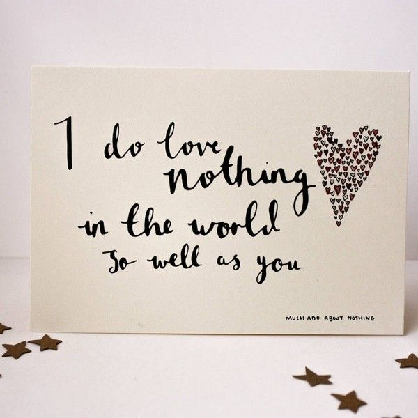 Valentine Quotes Shakespeare