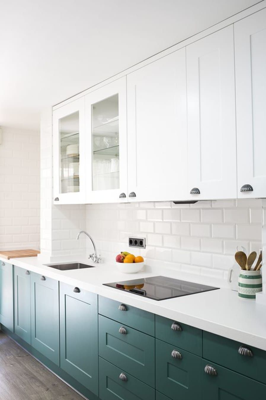 The Kitchen Cabinet Color I M Obsessed With In 2020 White Kitchen Remodeling Kitchen Design Large Kitchen Cabinets