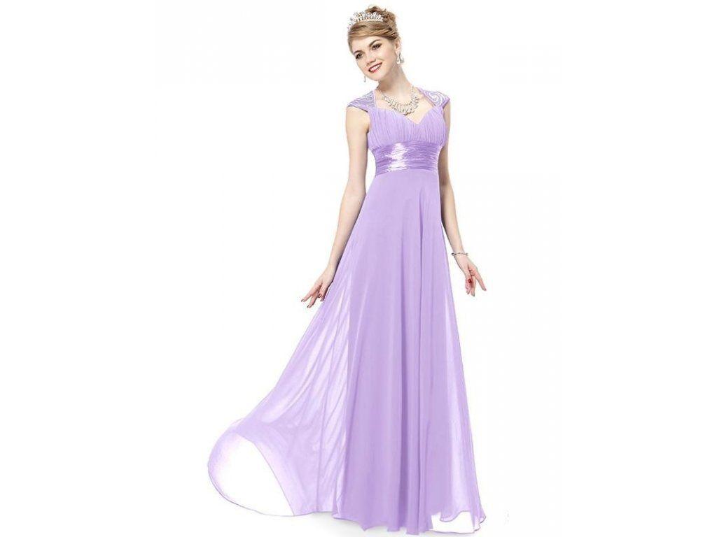 Ever Pretty plesové šaty s flitry sv. fialová 9672. Do společnosti i  večerní 472567816ac
