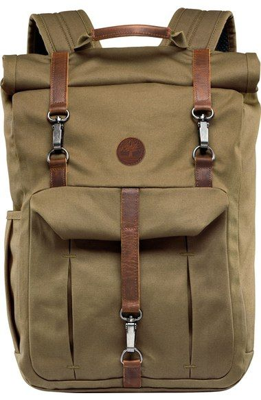 9a36bff0ef TIMBERLAND  Walnut Hill  Canvas Backpack.  timberland  bags  leather  canvas   nylon  backpacks