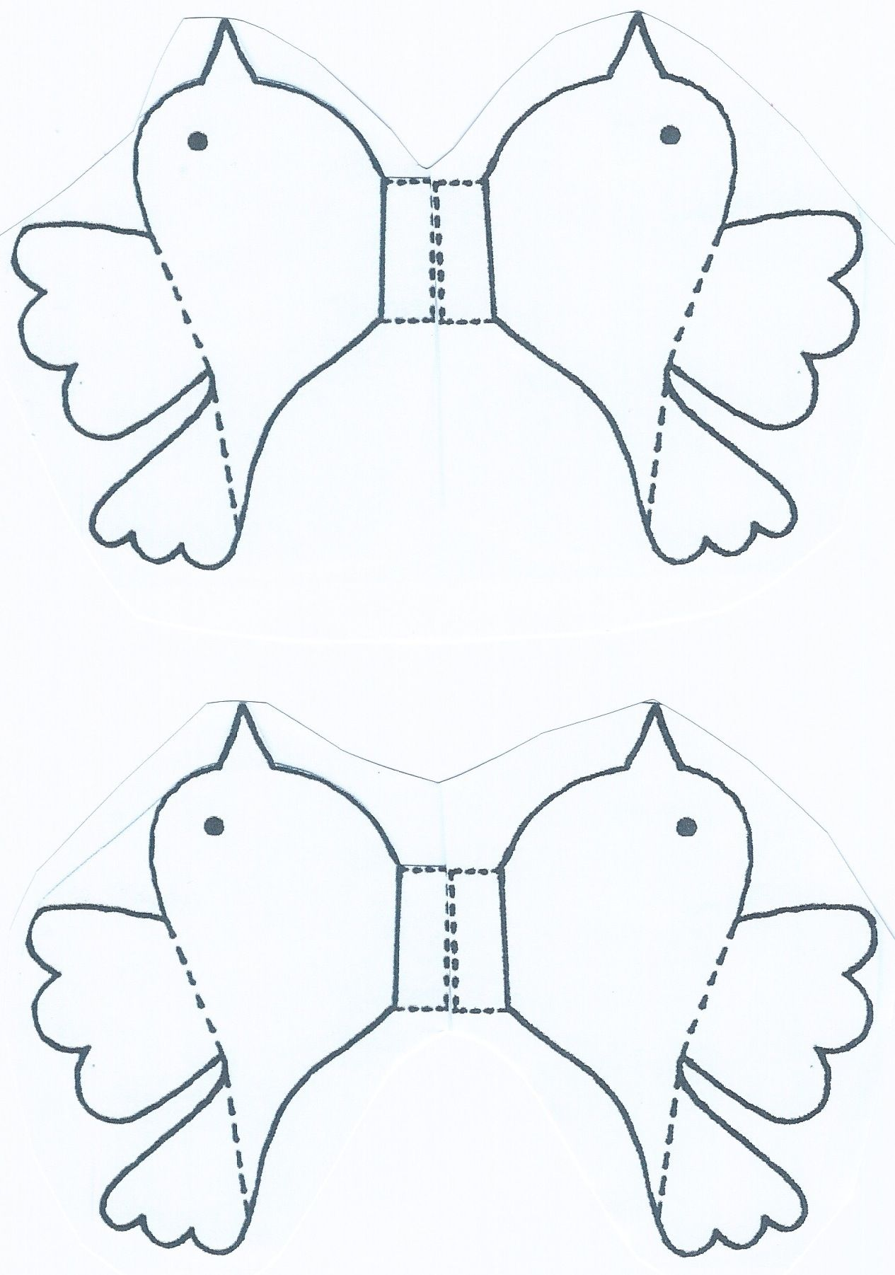 Large 3d Birds