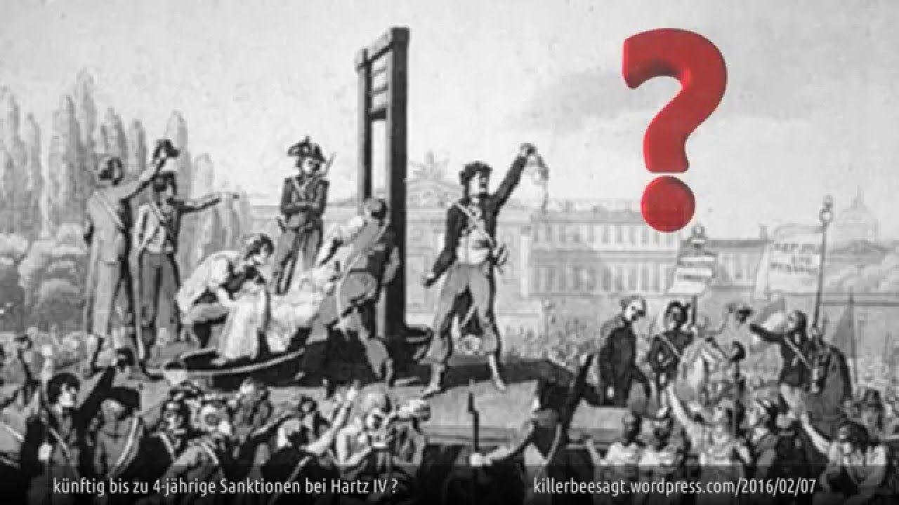 Hartz IV: künftig bis zu 4 Jahre-Sanktionen für ALG II Empfänger?
