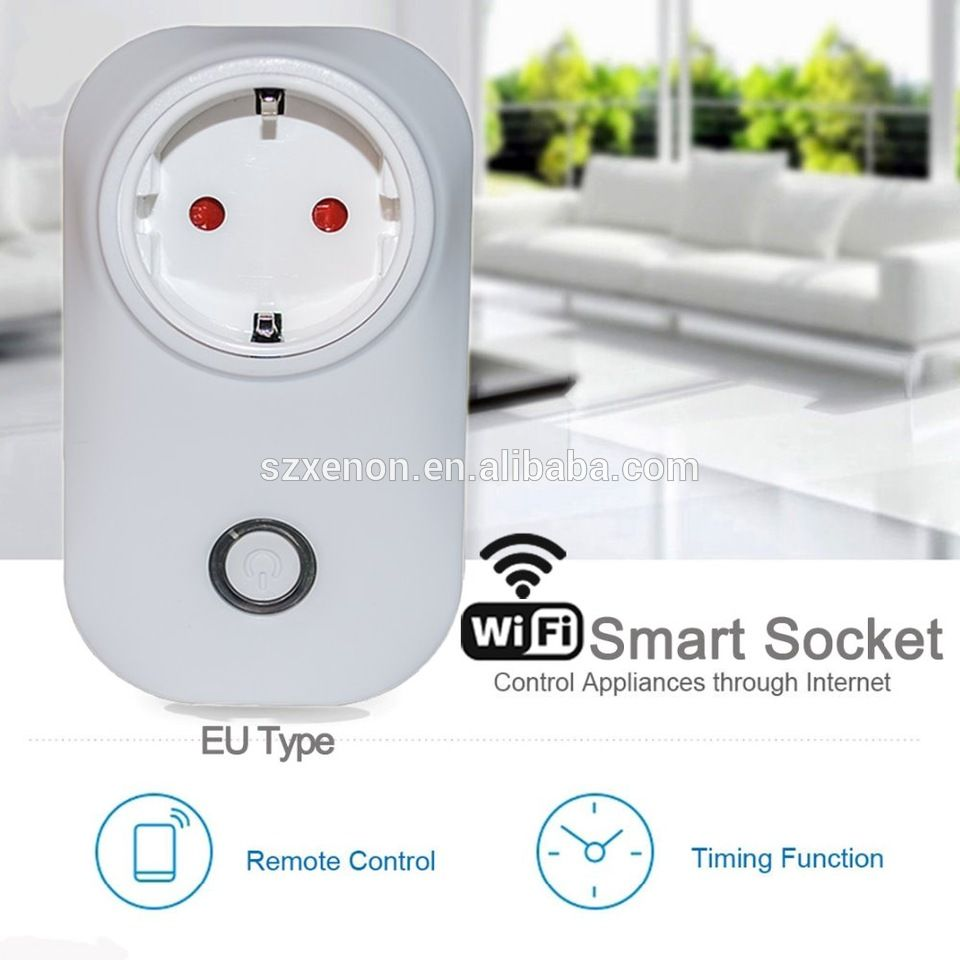 Universal electrical power plug for electric socket wireless ...