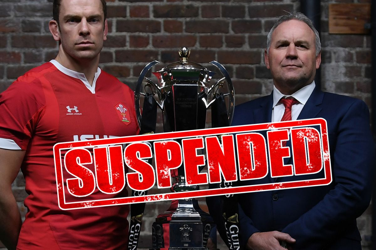 Premier League suspended, Wales vs Scotland, Masters golf