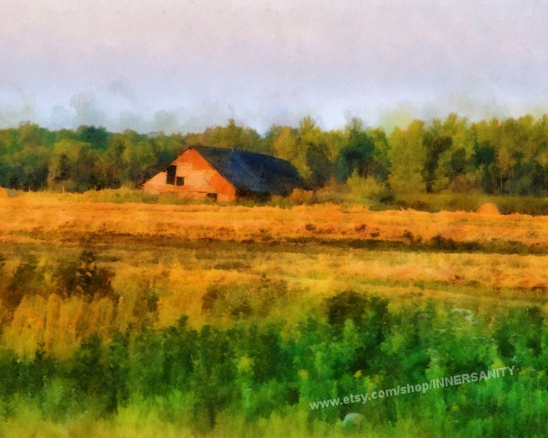 Old barn prairies canada manitoba barn photo