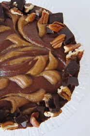 Fragrant Vanilla Cake: Raw Mexican Dark Chocolate Turtle Cheesecake