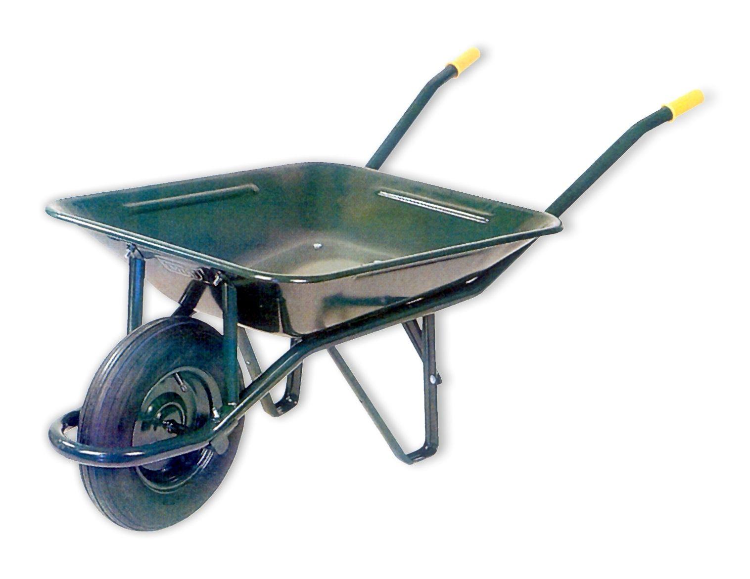 Carretilla obra 60lt metal verde carretillaobra - Carretillas de transporte ...