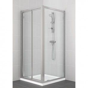 Ideal Standard New Connect Bifold Corner Shower Door 800mm L6646va Corner Shower Doors Shower Enclosure Bifold Shower Door