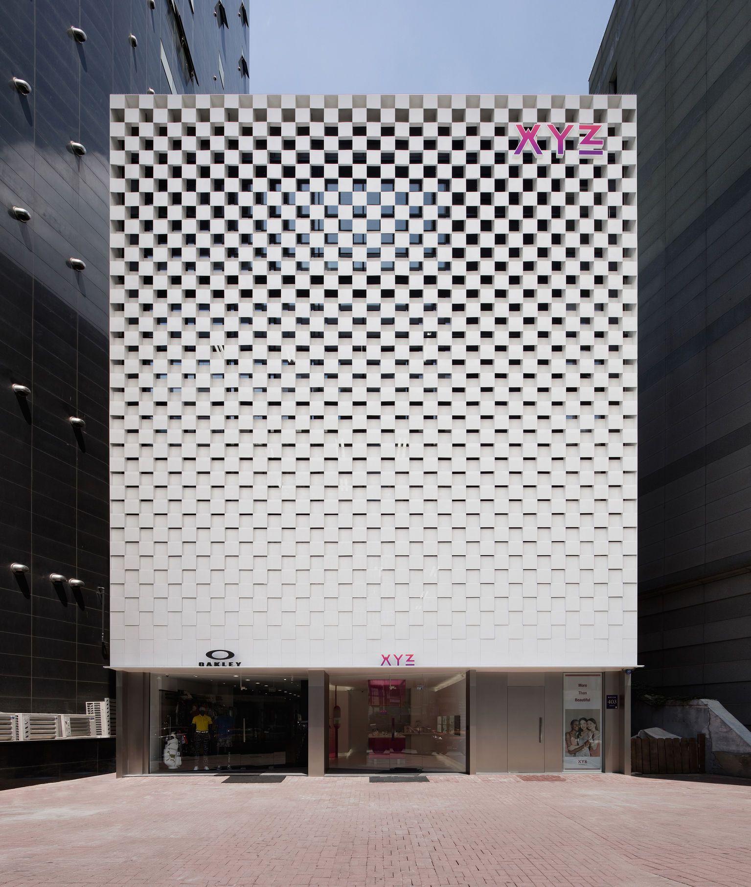 Xyz Flagship Store Facade Architecture Facade Design Architecture