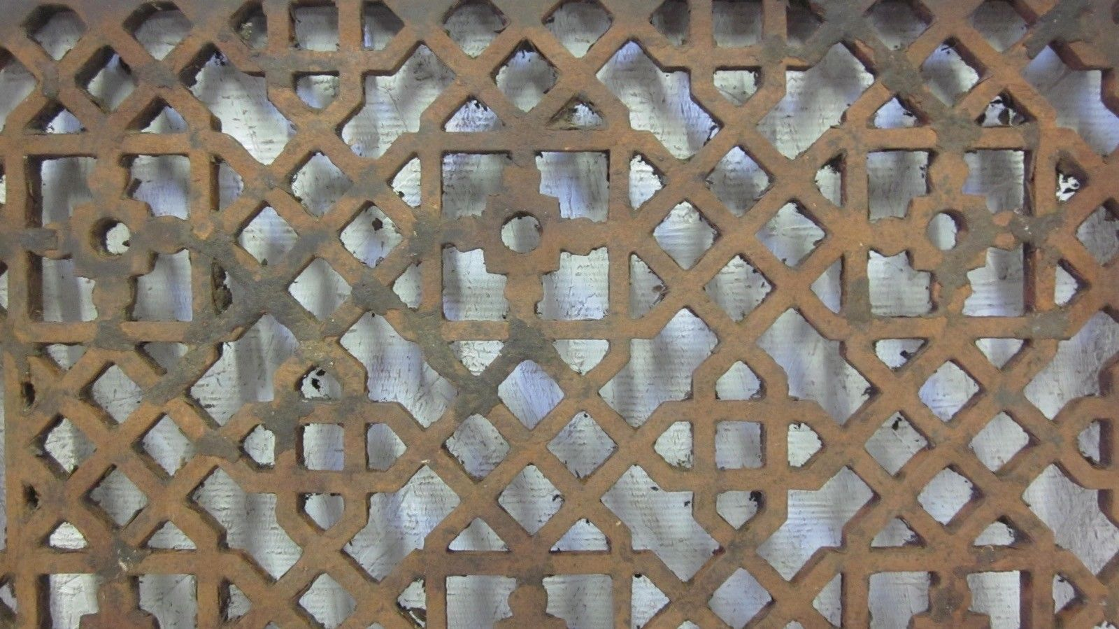 Antique Floor Wall 10 X 14 Furnace Cast Iron Hot Air Register Heat Grate Antique Flooring Furnace Antiques