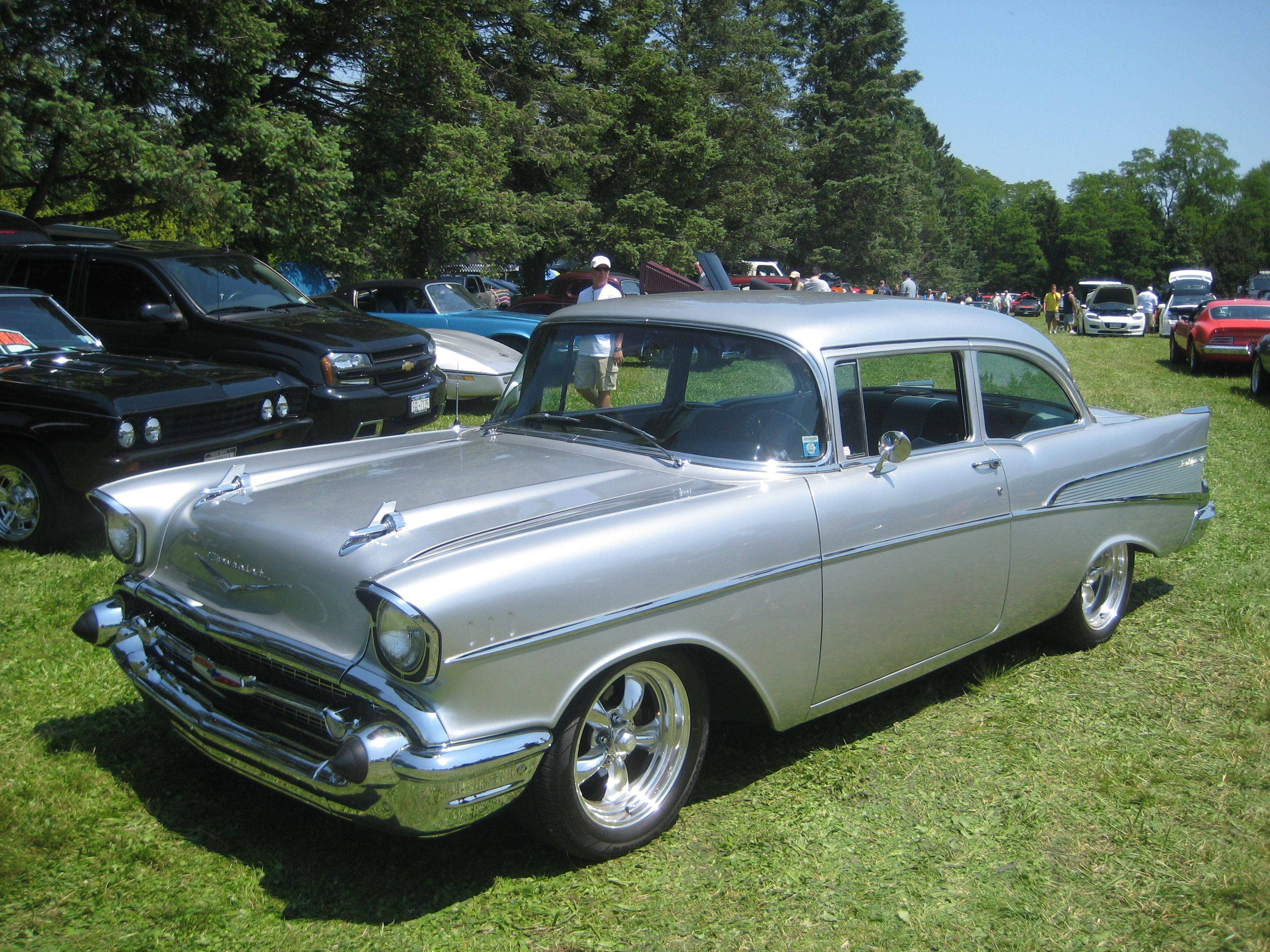 Classic 1957 chevys among the most recognized and stolen vehicles rod authority