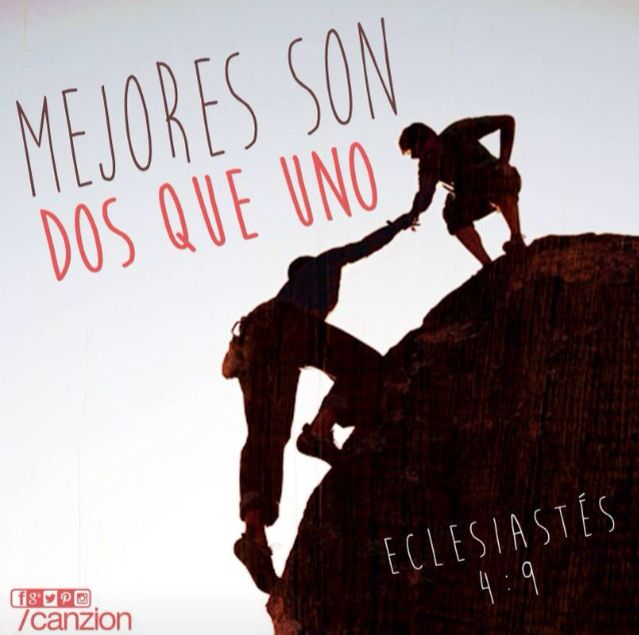 Mejores Son Dos Que Uno Live Life Happy Christian Quotes God Is Good