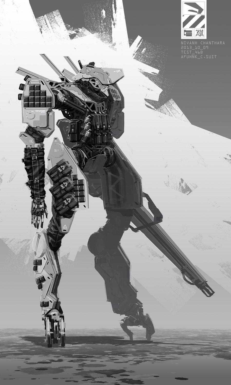 AFUHNK Combat Suit. by duster132