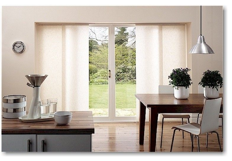 Blinds For Sliding Glass Doors Kitchen Modern With Curtains