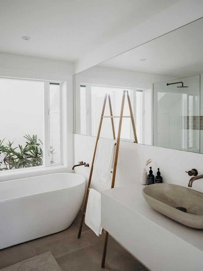 10 Interior Design Trends To Watch For 2020 Realestate Com Au Minimalist Bathroom Design Beach House Interior Small Apartment Bathroom