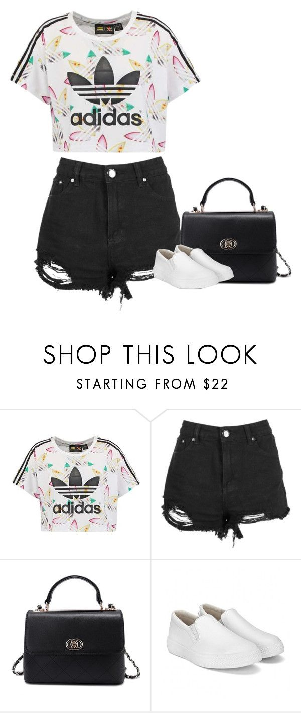 """""""Sem título #7981"""" by fanny483 ❤ liked on Polyvore featuring adidas Originals"""