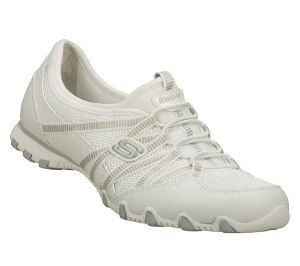 Skechers Women's Shoes - Bikers - Hot Ticket in White