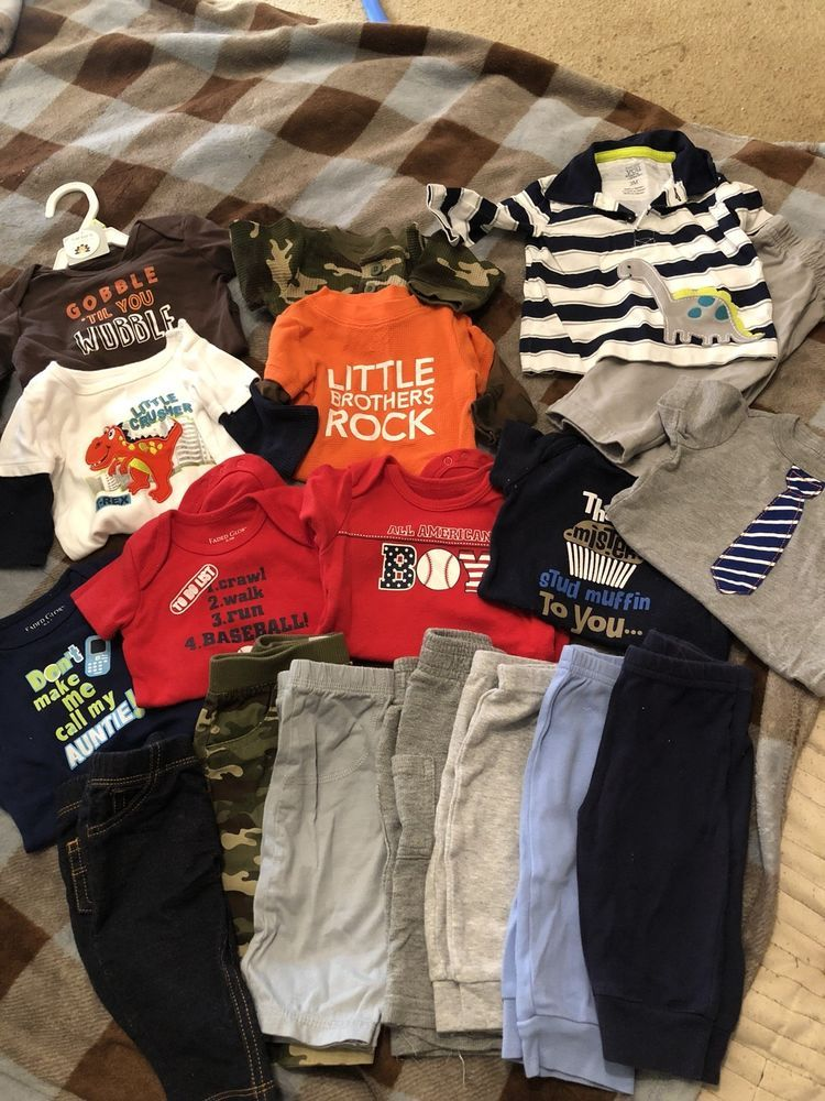 Baby Boy Clothes Lot 0 3 3 Months Fashion Clothing Shoes Accessories Babytoddlerclothing Boysclothingnewbo Boy Outfits Baby Boy Outfits Clothes