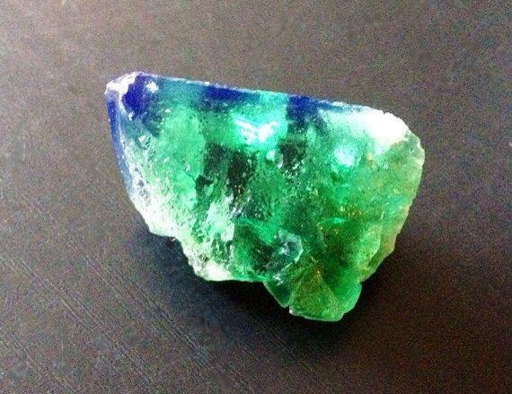 Green Fluorite Rogerley Daylight Fluorescent Crystal no.3 on Etsy, $24.00