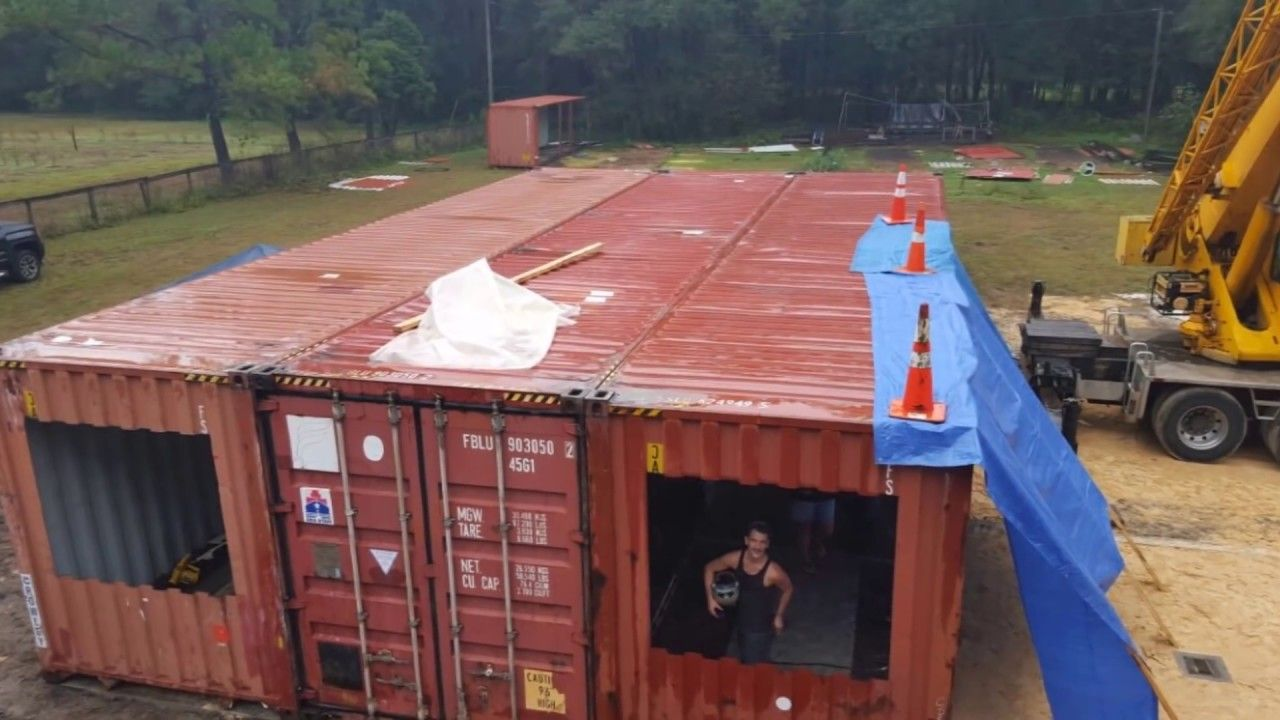 Container Home Start To Finish Tiny House In 2019